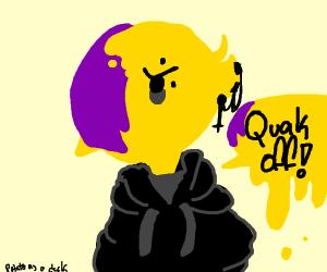 emo duck