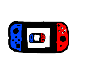 playing switch on a switch