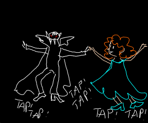 vampire tap dancing
