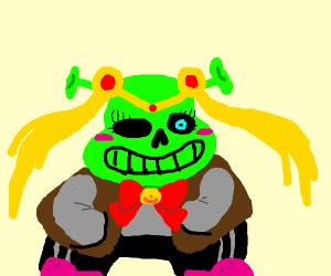 sailermoon Shrek sans