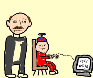 Dr. Phil talks to kid playing fortnite