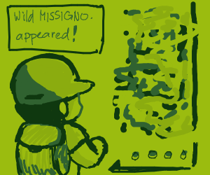 Wild Missingno appeared!