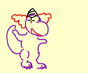 barney the birthday clown dinosaur