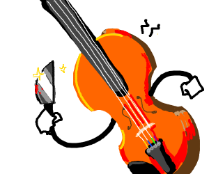 violin wants to stab