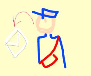 4-dimensional postman