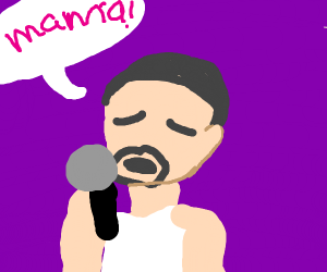 "freddie mercury singing ""mama"""