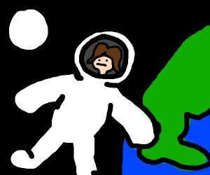 female astronaut