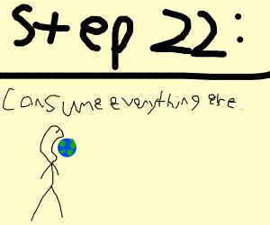 Step 21: Consume it.