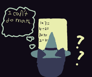 witch that cant do math