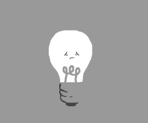 Sad Lightbub
