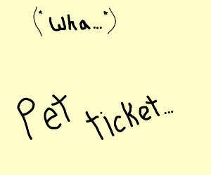 Pet Ticket