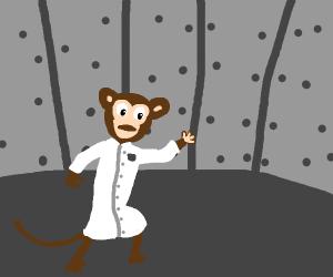 scientist monkey