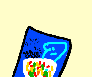 "Captain Crunch's ""Oops All Berries"" cereal"