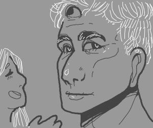 Three-eyed grandfather