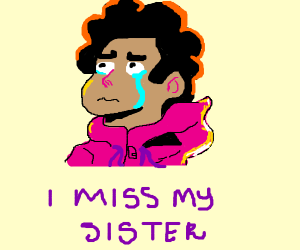 Steven Universe misses his sister