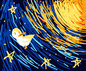 space duckling