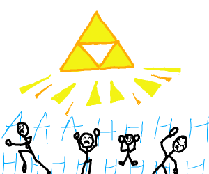 The People Are Scared Of The Mighty Triforce