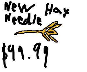 World's hardest to find needle