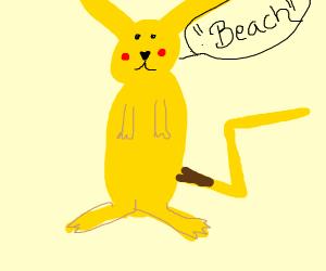 "oval pikachu says ""Bword"""
