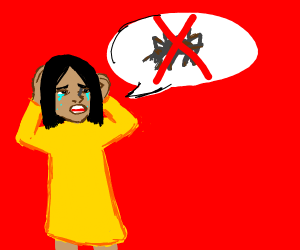 Little girl hysterical over lost tarantula
