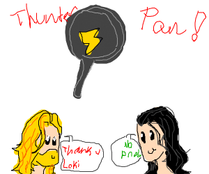 Thunder pan