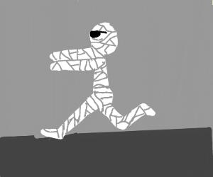Badass mummy running
