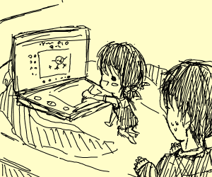 Sibling draws your panel pio