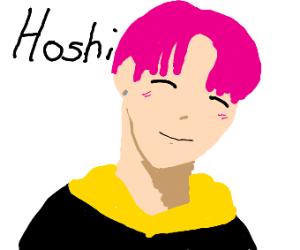 OMG IT'S SVT'S HOSHI <3