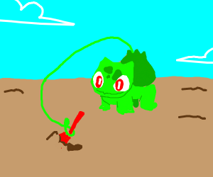 Venusaur used Dig!