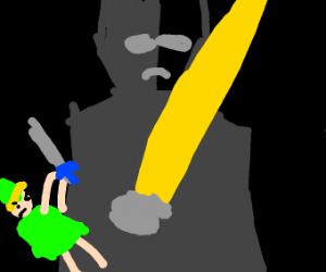 Big sword vs little sword