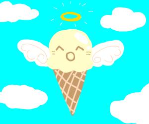 Angelic Vanilla Icecream