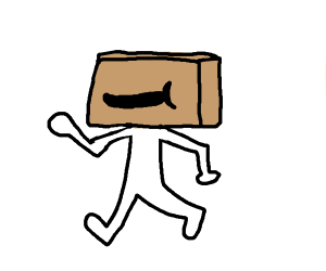 "Amazon box ""person"""