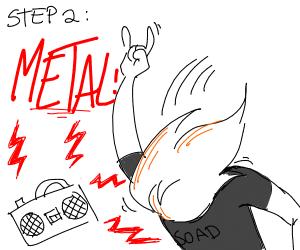 Step 1: Turn the speakers to maximum volume