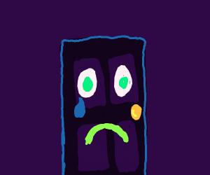 A sad door...