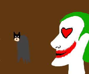 joker loves batman