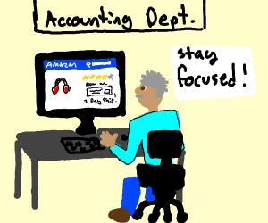 Accountant on Amazon