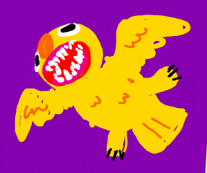 TheyThought yelloCreatureW/BirdWings was gone