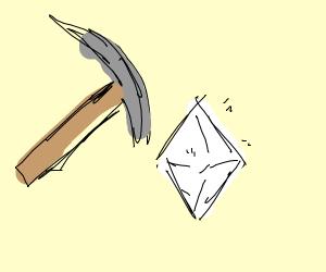 mine diamonds