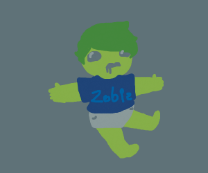 A Toddler Zombie