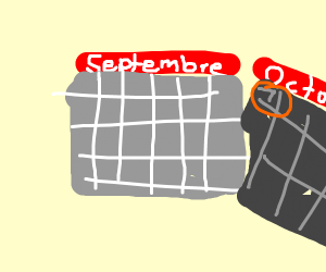 one more month to s p o o k y s e a s o n