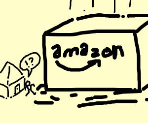 giant amazon package
