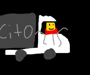 despacito spider drives truck