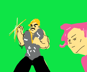 Doppio and Dio get girly haircuts