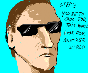 Step2: Then become somebody cool (get rekt)