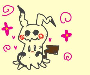 a sweet Mimikyu