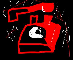Haunted telephone