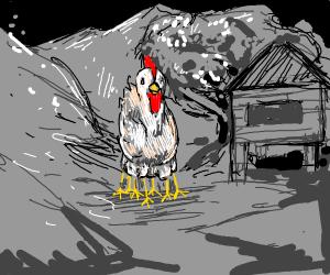 Chicken with seven legs