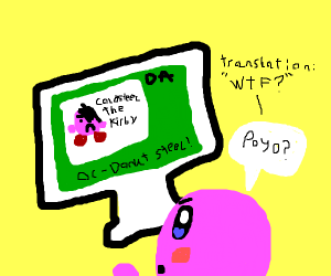 Kirby is offended by bad art