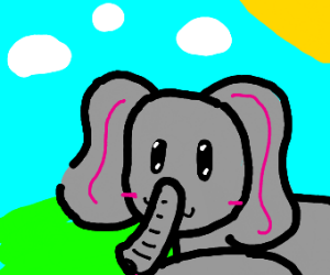 Thicc kawaii elephant