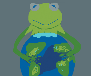 Kermit is taking over the world